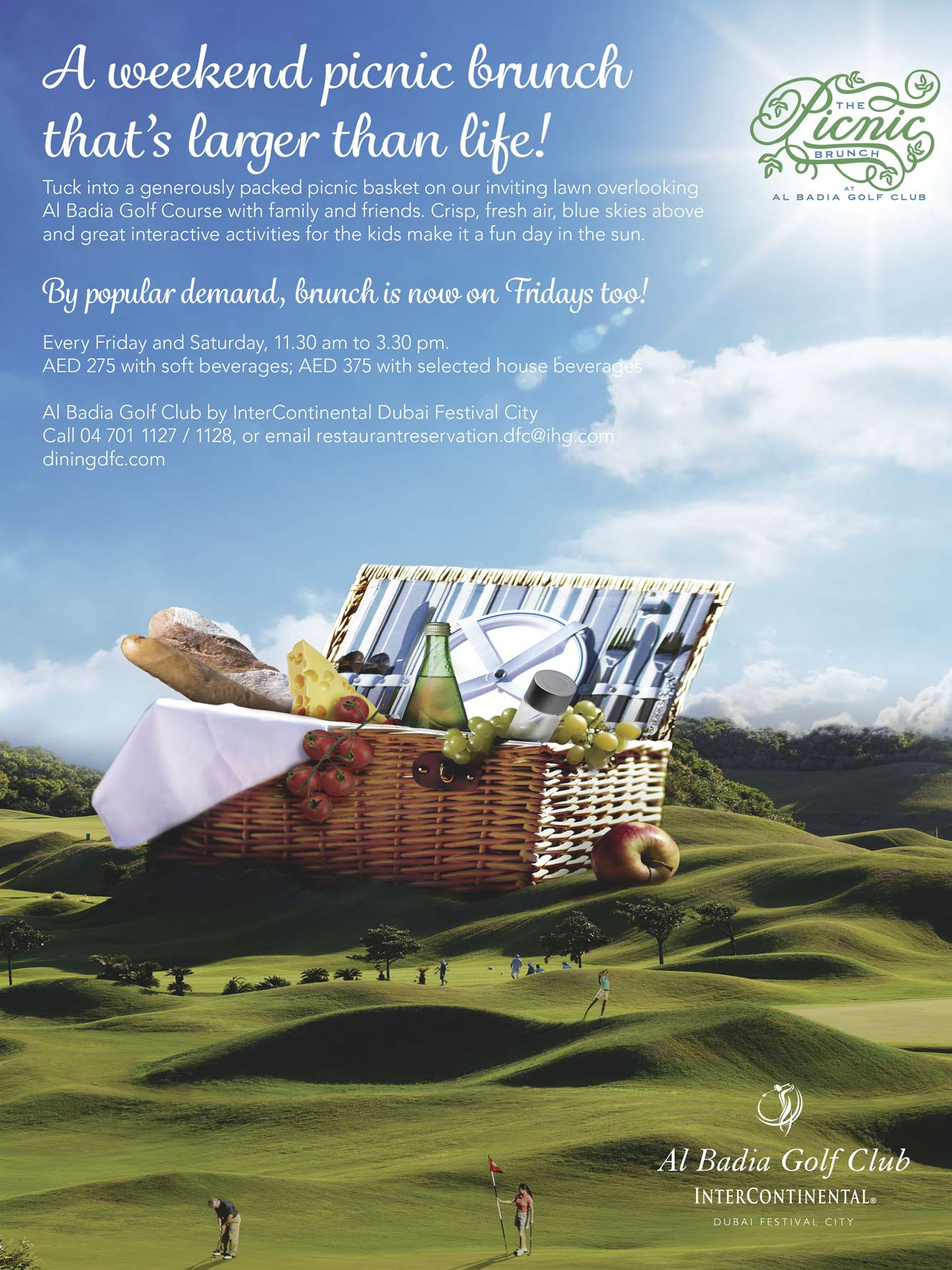 Al Badia Golf Club Picnic Brunch